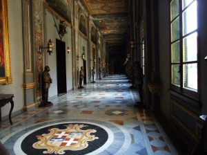 hallway inside the Grand Master Palace